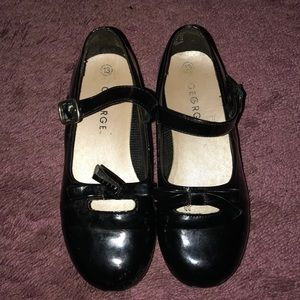Little girl Mary Jane shoes